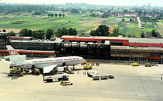 Nuremberg Airport - Aerial shot from the mid-1980s