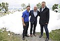 Alain Rayes, Bernard Genereux and Andrew Scheer in Berthier-sur-Mer - 2018 (42122913425).jpg