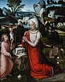 Albert Cornelis (ca.1475–1532) Magdalena in een landschap - National Gallery Londen 5-3-2015 11-13-23.JPG