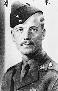 Alec Horwood Recipient of the Victoria Cross