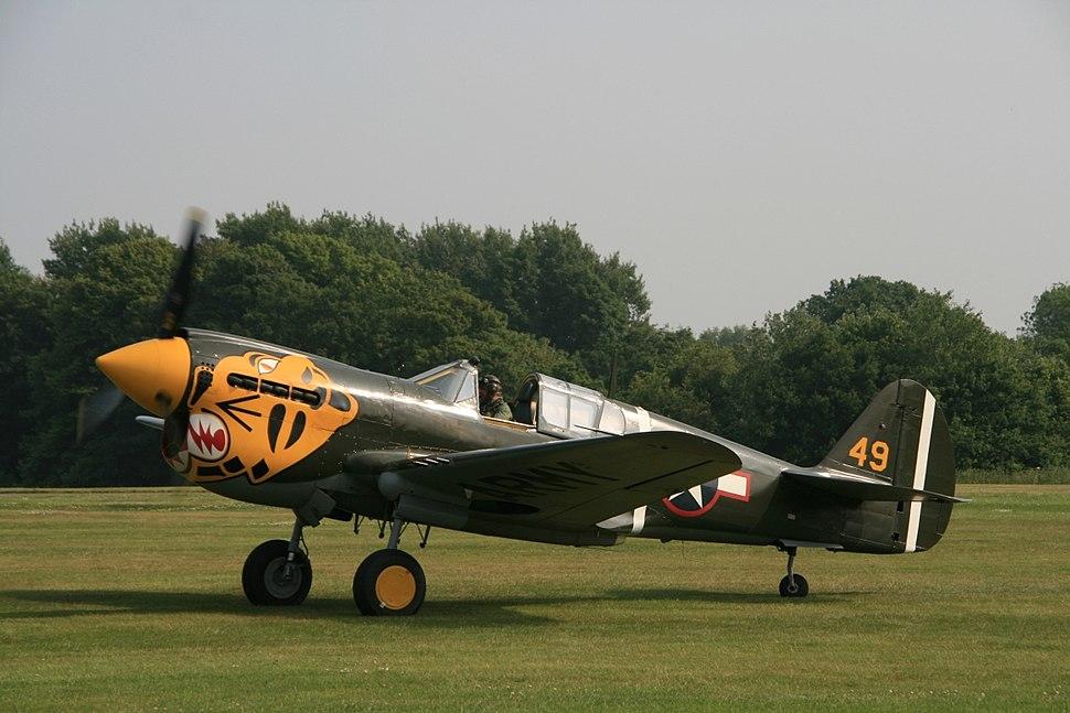 Aleutian P-40E