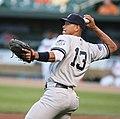 Alex Rodriguez throwing ball against Orioles 5-28-08.jpg