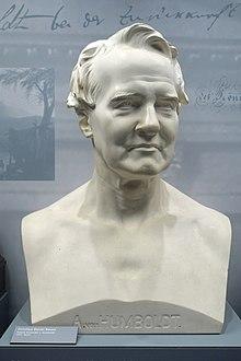 Alexander von Humboldt (Büste von Christian Daniel Rauch, 1857) (Quelle: Wikimedia)
