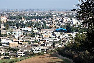 Aliabad-e Katul City in Golestan, Iran