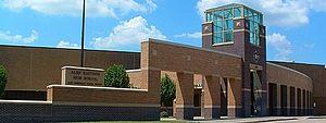 Alief Hastings High School - Front Exterior