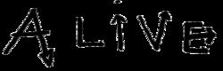 Alive (single) logo