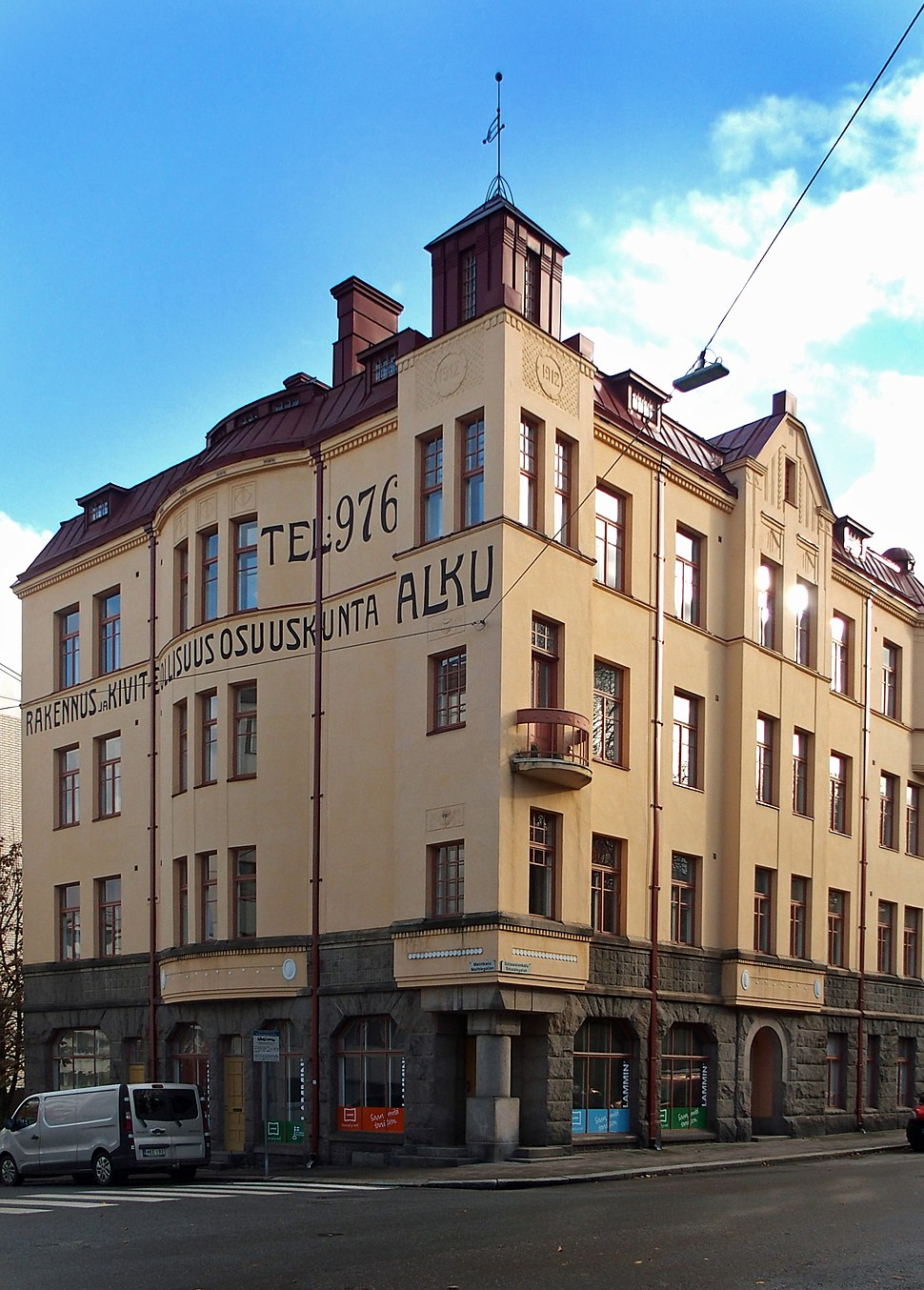 Alku building in Martti, Turku