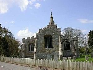 Church of All Saints, Upper Dean - Church of All Saints (or All Hallows), Upper Dean.