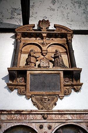 John Melton - Monument to Sir John Melton in All Hallows Church, Tottenham