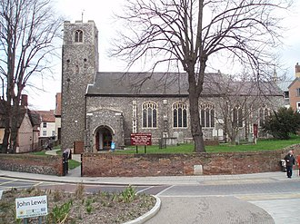 Grade I listed buildings in Norwich - Image: All Saints' Church geograph.org.uk 377908