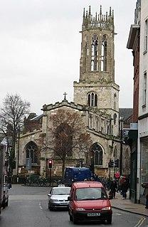 All Saints Church, Pavement, York Church in York, England