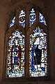 All Saints church in East Winch - south aisle west window - geograph.org.uk - 1742904.jpg