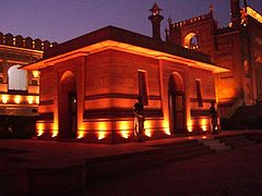 AllamaIqbal Tomb Night.jpg