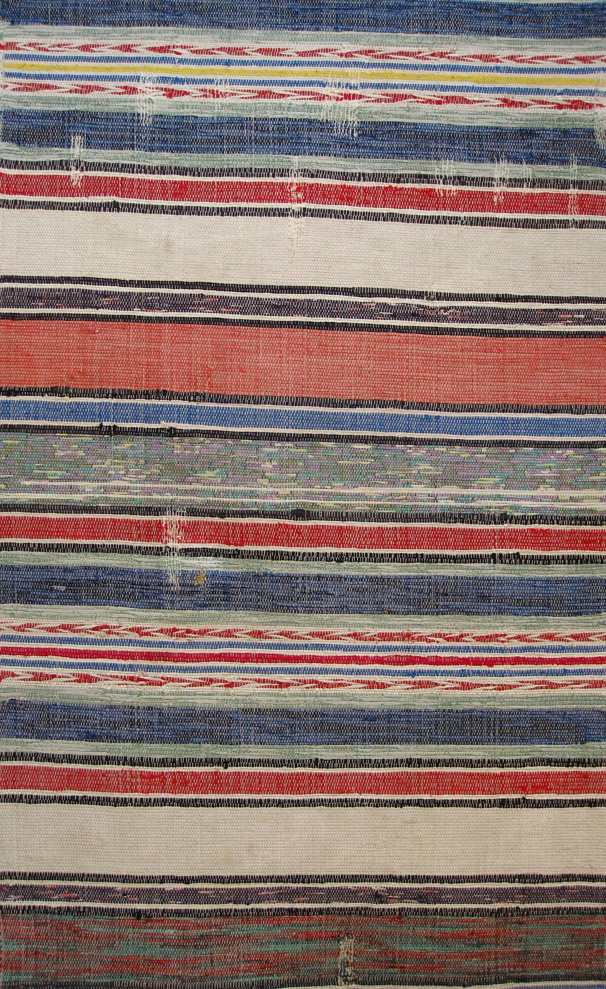 Allgäuer Teppiche allgäuer bändelteppich