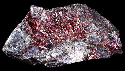 Muscovite (var. alurgite), from  Prabornaz Mine, Aosta Valley, Italy