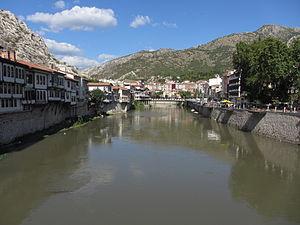 Amasya - Image: Amasya river 02