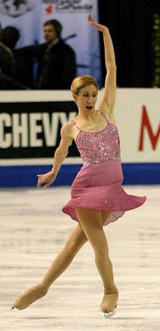 Figure skating spins - Image: Amber Corwin