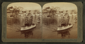 American Fleet blockading the entrance to Santiago Harbor-Naval Exhibit, from Robert N. Dennis collection of stereoscopic views.png