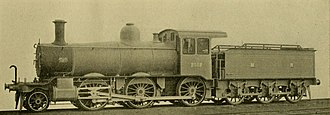 Midland Railway 2511 Class - Works Photograph of number 2512