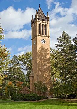 The campanile as seen from the north Ames iowastate.jpg