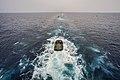 Amphibious assault vehicles launch from USS Bonhomme Richard 150304-N-UF697-027.jpg