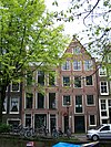 amsterdam lauriergracht 75 and 77 across
