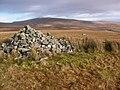 Ancient cairn atop Foel Deg-arbedol - geograph.org.uk - 1125841.jpg