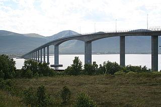 Andøy Bridge bridge in Andøy, Norway