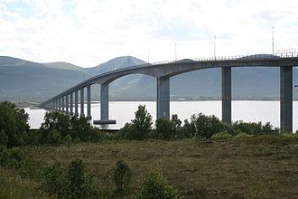 Andøya - Image: Andøy Bridge