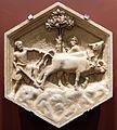 Andrea pisano, homogirus ovvero l'agricoltura, 1348-50, dal lato est del campanile 01.JPG