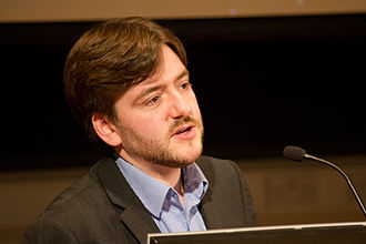 Humanists International - Current IHEU President Andrew Copson.