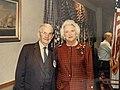 Andrew Jarvis with Barbara Bush in 1988.jpg