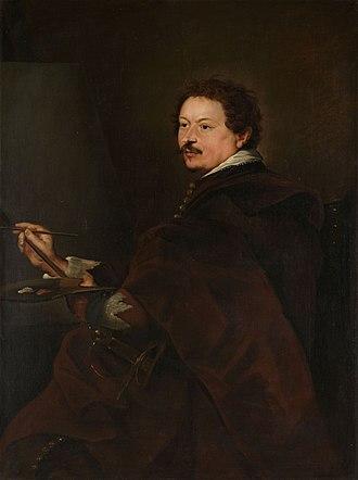 Andries van Eertvelt - Portrait of Andries van Eertvelt