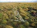 Anemometer anchor, Auchencorth Moss. - geograph.org.uk - 72525.jpg