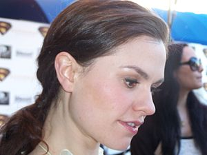 English: New Zealand actress Anna Paquin.