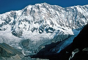 Annapurna I. from about 4500 m