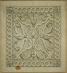 Design for an openwork transom of a door