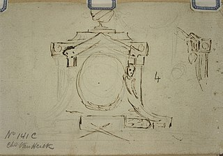Sketchy design for a clock