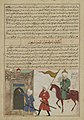 Anonymous - The Conquest of Khaybar by the Prophet Muhammad, from a manuscript of Hafiz-i Abru's Majma' al-tawarikh - 1965.51.4 - Yale University Art Gallery.jpg