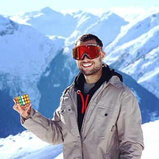 Anthony Michael Brooks American speed cubing champion