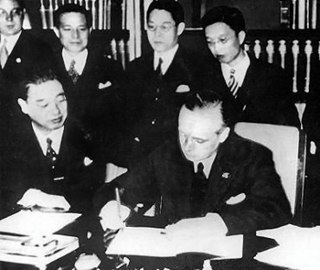 Anti-Comintern Pact Anti-Communist pact concluded between Nazi Germany and the Empire of Japan in 1936