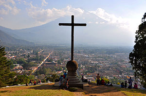 Immigration to Guatemala - In Antigua Guatemala can be noted varies Spanish architecture as a cultural contribution to the Hispanic period.