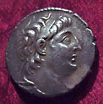 Antiochus VII Sidetes - Image: Antiochus VII coin (Mary Harrsch)