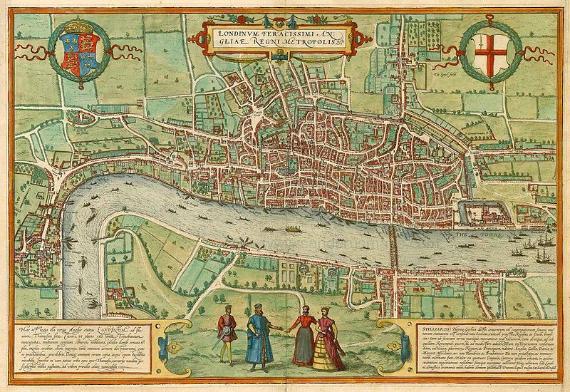 File:Antique map of London by Braun & Hogenberg.jpg