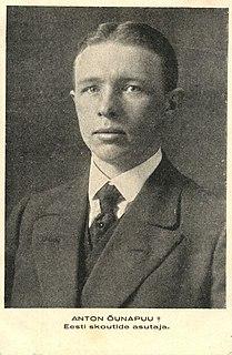 Anton Õunapuu Estonian teacher