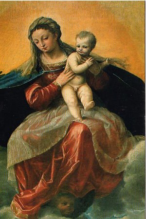 Antonio Badile - Mary and Jesus.