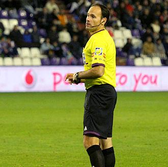 Guruceta Trophy - Mateu Lahoz won the trophy twice.