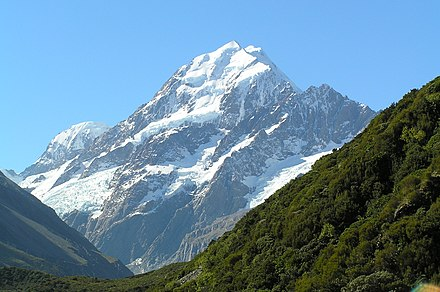 Usersimonlyalltest wikiwand aorakimount cook is the tallest mountain in new zealand publicscrutiny Choice Image