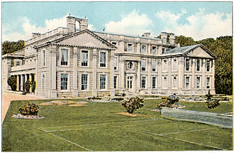 Appuldurcombe House - Appuldurcombe House circa 1910