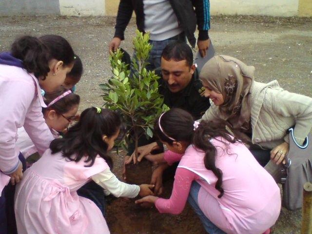 Arbor day in Algeria